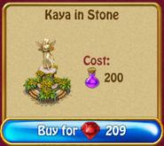 Kaya in stone rN3600