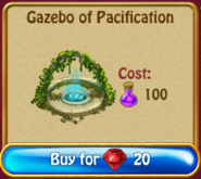 Gazebo of pacification r300