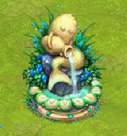 Mermaid fountainV