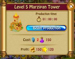 Marzipan tower P5