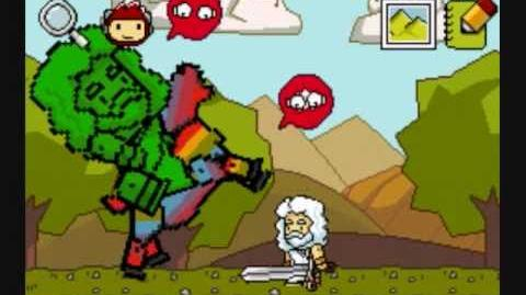 Super Scribblenauts Gameplay NDS