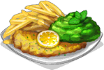 Dish-Cod & Mushy Peas