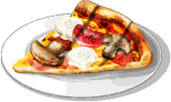 Dish-Grilled Pizza