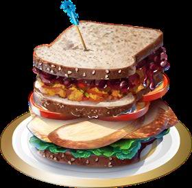 Recipe-Turkey Sandwich
