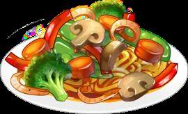 Recipe-Veggie Chow Mein