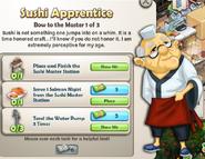 Sushi Apprentice
