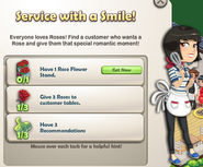 Service with a Smile!