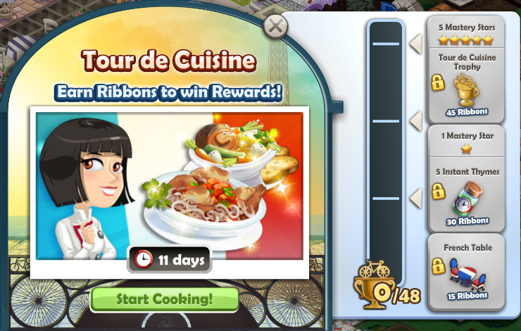 tour de cuisine event chefville wiki fandom powered by