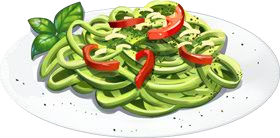 Recipe-Angel Hair Pasta with Pesto