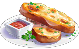 Recipe-Garlic Cheese Bread