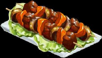 Recipe-Seasonal Beef Skewers