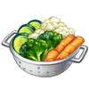 Ingredient-Steamed Vegetables