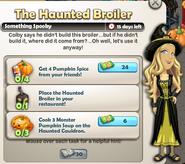 The Haunted Broiler
