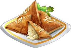 Recipe-Cheese Samosa