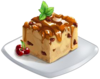 Recipe-Bread Pudding with Fresh Currants