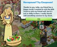 Horsepower Try Cowpower!.