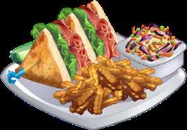 Recipe-Grilled Club Sandwich with Pesto