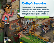 Colby's Surprise