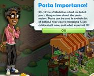 Pasta Importance!