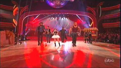 Cher Lloyd performing Want U Back on Dancing with the Stars