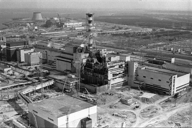 File:An-aerial-view-of-the-chernobyl-nuclear-plant-in-ukraine-shows-damage-from-an-explosion-and-fire-in-one-of-the-reactors-that-sent-large-amounts-of-radioactive-material-into-the-atmosphere-april-26-1986.jpg