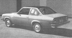 R&T Fuel Savers '74 vega LX