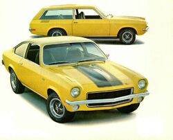 1971 Vega GT Coupe & Wagon