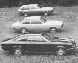 Vega coupe. sedan, wagon MT '71 Buyers Guide