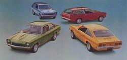 1973 Vega models