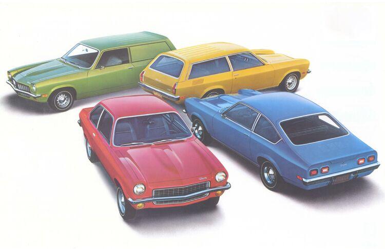 1972 Vega models