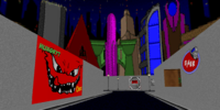 E1M1: Spaceport (Chex Quest 2)