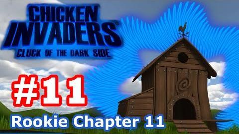 Chicken Invaders 5 - Part 11 Rookie Chapter 11 (No Death)