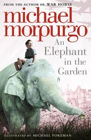 File:An elephant in the garden.JPG
