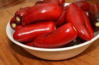 Ripe jalapeno pepper