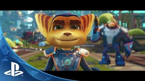 Ratchet & Clank - The Game, Based on the Movie, Based on the Game Trailer PS4