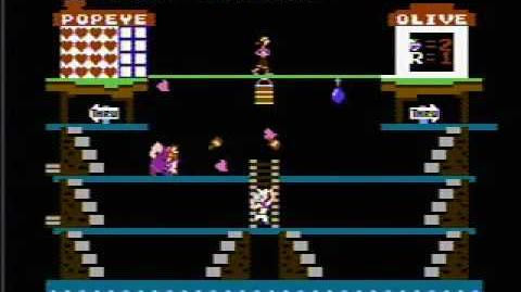 Popeye - NES Gameplay