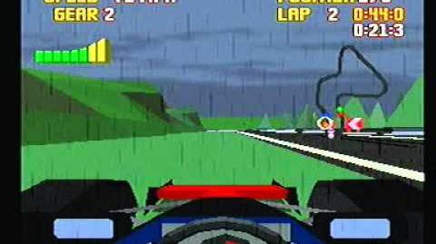 Gameplay Atari Jaguar - Checkered Flag