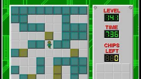 CCLP2 level 141 solution - 598 seconds