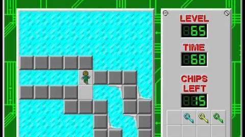 CCLP2 level 65 solution - 38 seconds