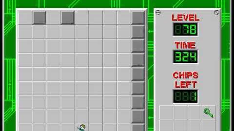 CCLP2 level 78 solution - 295 seconds