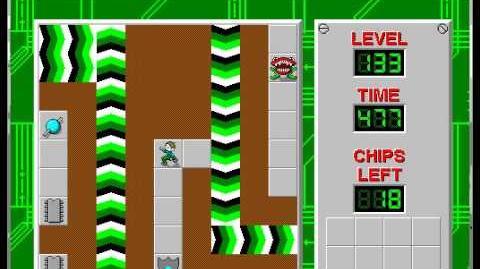 CCLP1 level 133 solution - 459 seconds