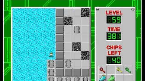 CCLP2 level 59 solution - 352 seconds