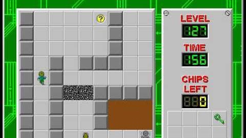 CCLP2 level 127 solution - 112 seconds