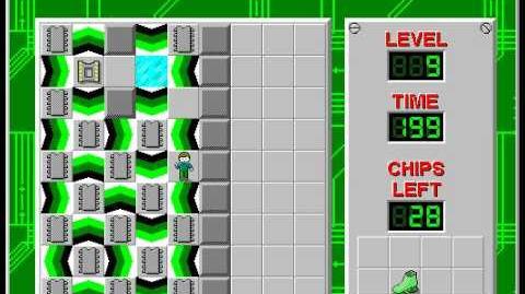CCLP2 level 9 solution - 197 seconds
