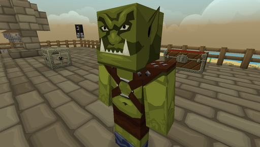 Chocolate Quest HD Texture Pack Orc