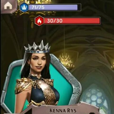 Kenna becomes the new rightful Queen of Stormholt