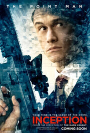 Inception character photo and poster arthur pointman