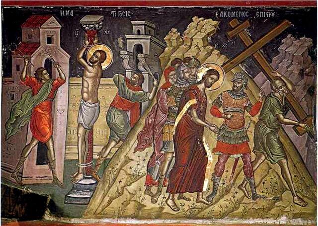 File:Jesus in Golgotha by Theophanes the Cretan.jpg
