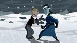 Ron and Drakken bickering