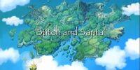 Stitch and Santa